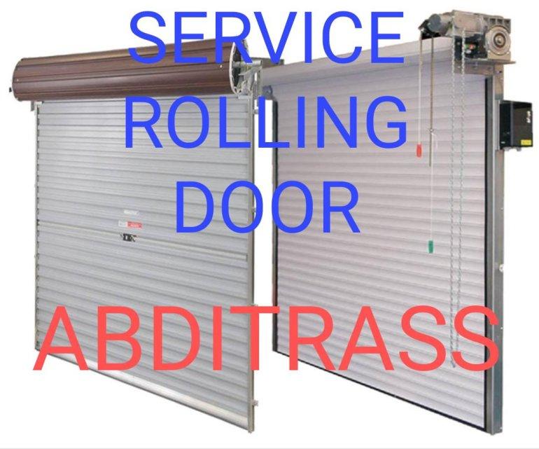 Service rolling door bogor